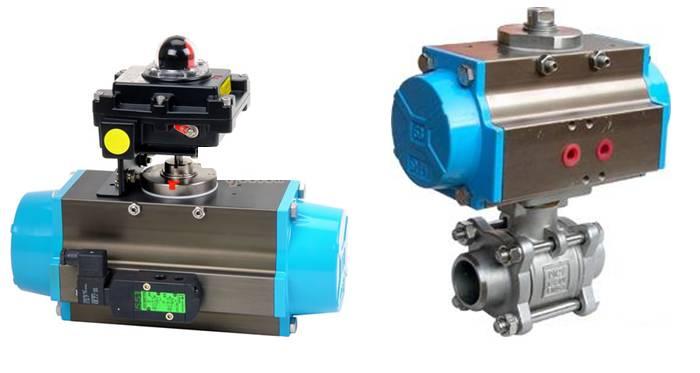 气动装置(pneumatic actuator) 用气力启闭或调节阀门的驱动装置,亦称图片