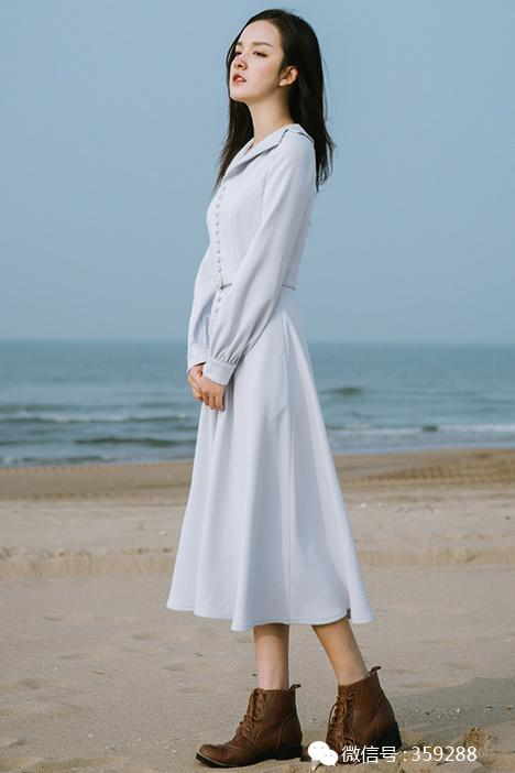 素雅而甜美的款,春季穿搭起来非常时尚,女神范十足!
