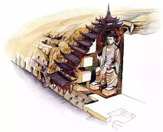 中国古建筑设计手绘稿,就是这么屌!