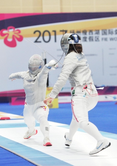 扬州首次举办国际性击剑大赛 国际剑联副主席王伟点赞扬州(组图)