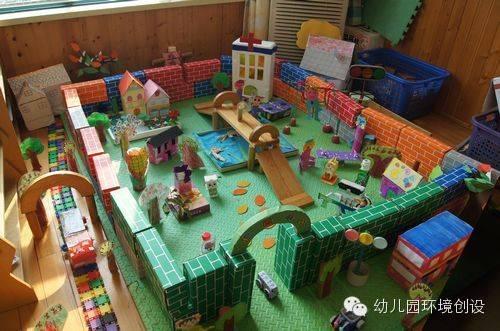 【环创欣赏】我是小建筑师-幼儿园建构区图片