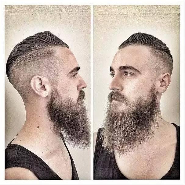 高铁乘务男士发型塑造图片