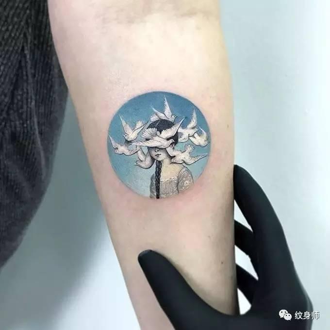 纹身师 | 小而精的纹身图片