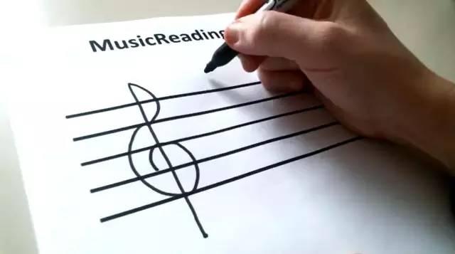 高音谱号和低音谱号,你都会画了吗