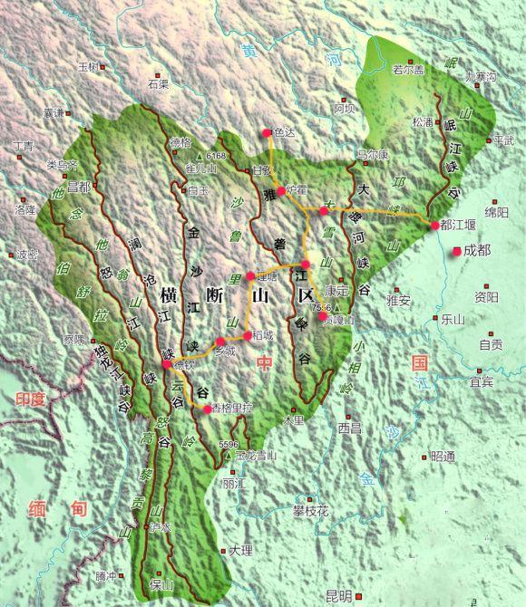 人类起源于横断山脉 - 谭老师地理工作室 - 谭老师地理工作室