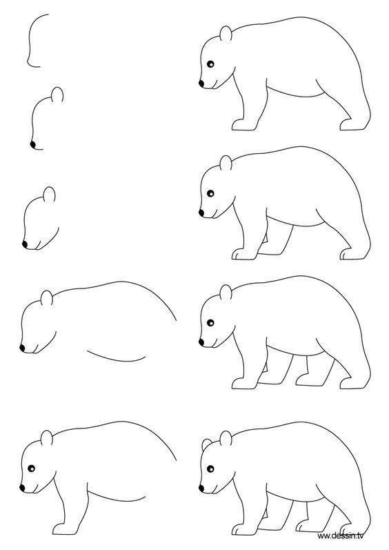 简笔画 史上最简单的简笔画教程,一学就会