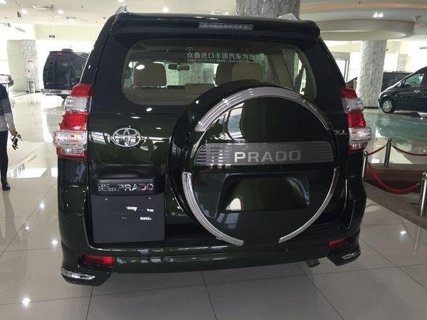 17款丰田黑色高配版霸道2700天津港最低价多少钱