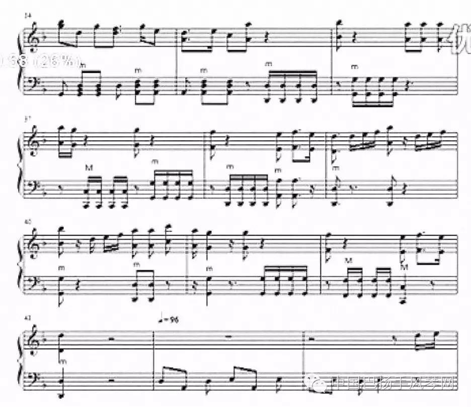 全的手风琴版 加勒比海盗主题曲 乐谱