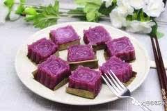 山药和紫薯在一起 能做成什么美食?!