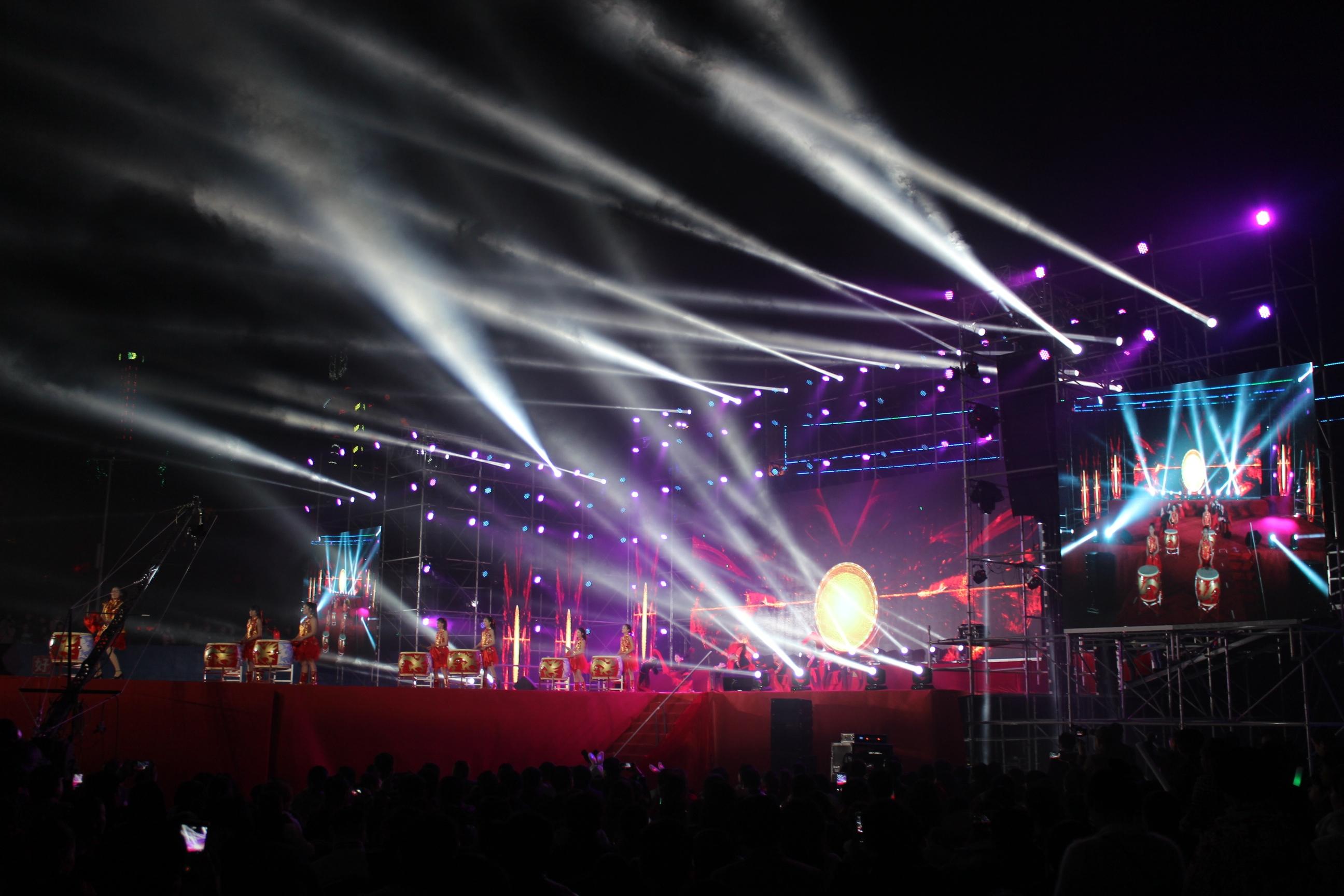歌手阿杜等倾力献唱 五龙山群星演唱会圆满落幕