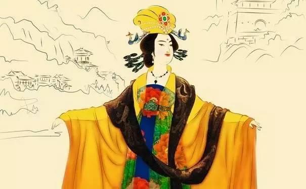武则天卡通图片霸_原来武则天,杨玉环和慈禧太后,才是真正的美白达人