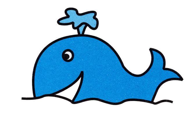 儿童简笔画 热带鱼海豚等十种海洋生物,详细教程