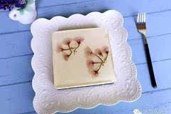 免烤简单版  樱花牛奶慕斯蛋糕(无黄油)