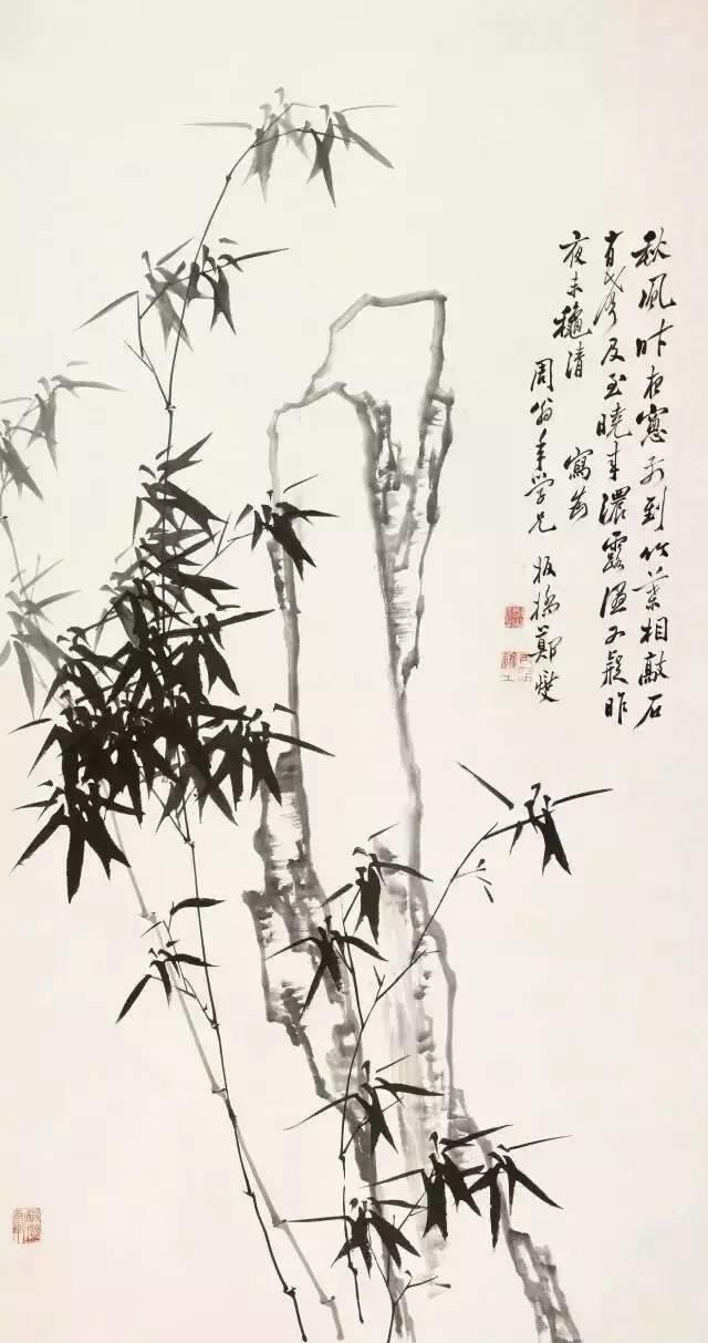 郑难怪板桥竹子画得好,原来有这个秘密