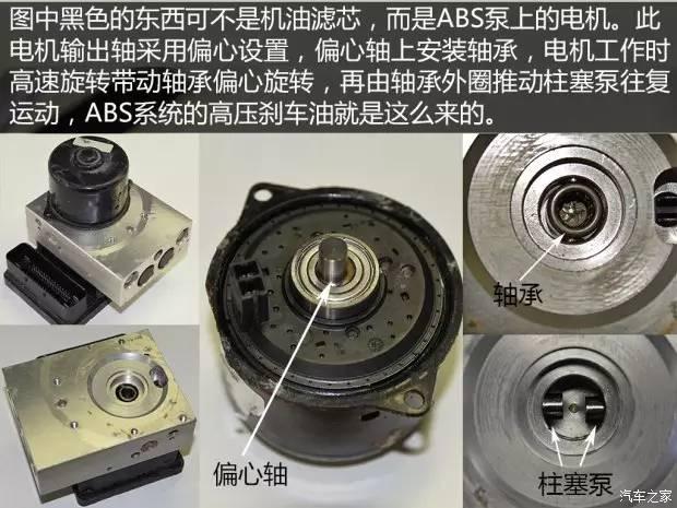 这些功能都是依靠电机驱动柱塞泵建立油压,通过电磁阀组合工作实现的.图片