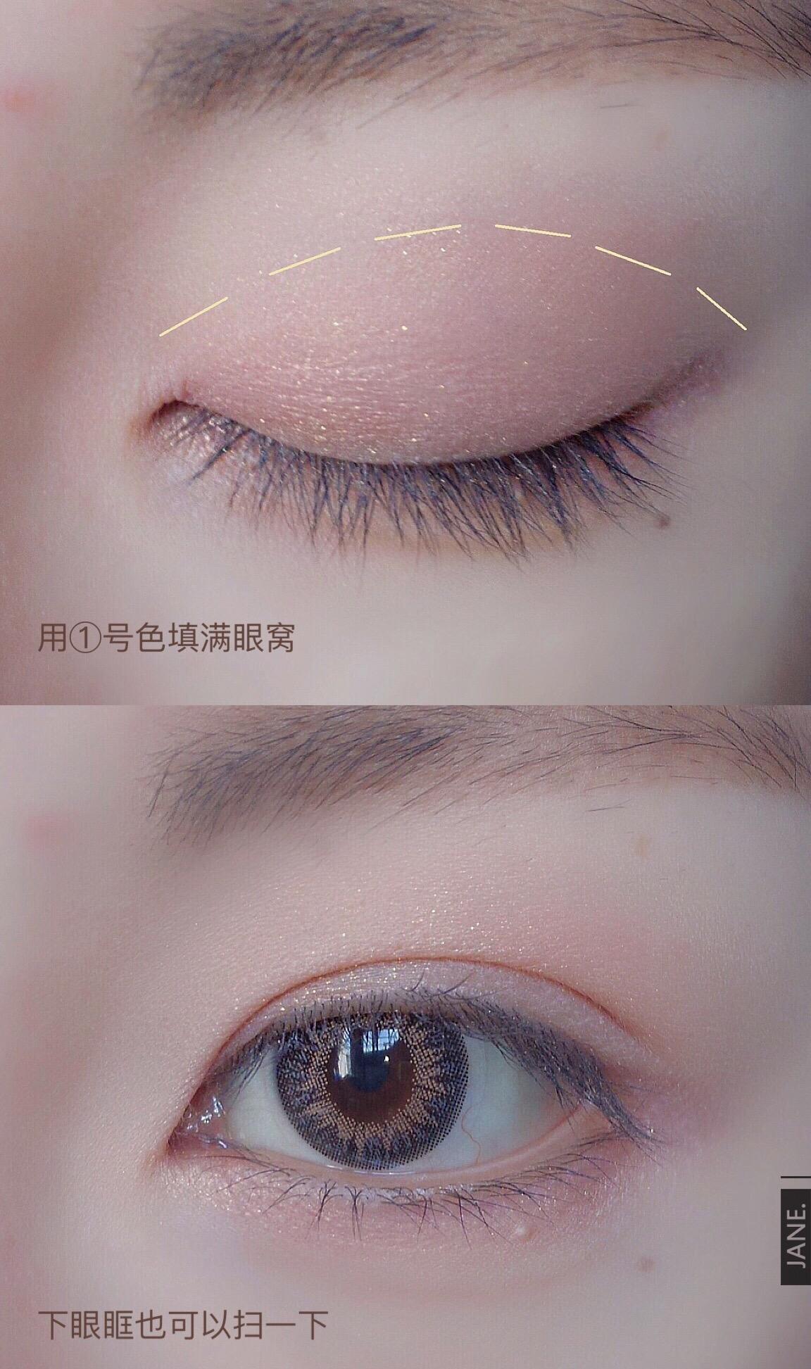 怎么画眼影好看,最新的眼妆推荐