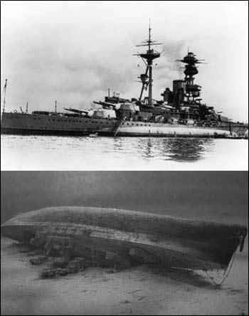 日不落的余晖,二战中的英国战列舰 一
