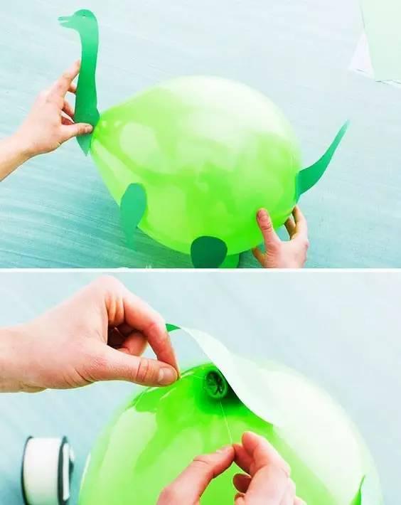 幼儿园气球创意手工制作图解教程,太美了!