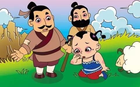 粤语故事|爱撒谎的放羊娃,遇到危险会有人会相信他吗?图片
