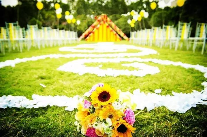 执子之手,缘定蓝天白云郑州这些最浪漫的户外婚礼,许她一 生一世的