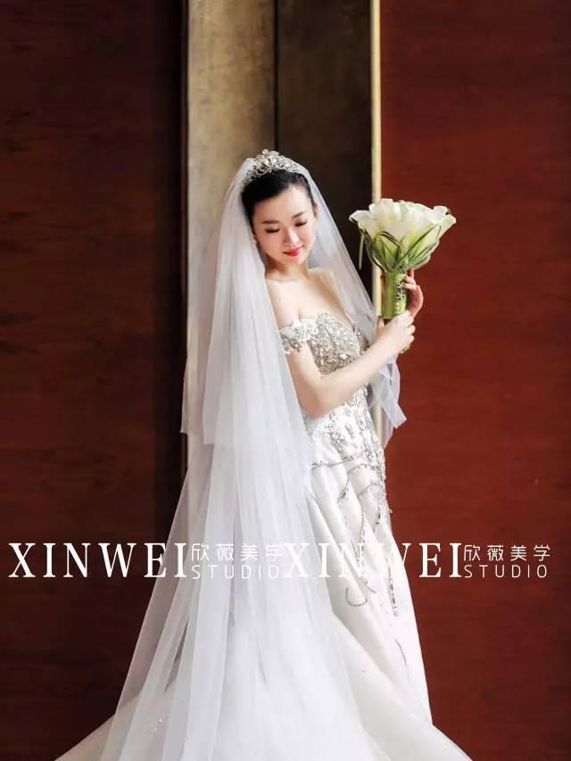 作为化妆师必须有的新娘头纱造型攻略!图片