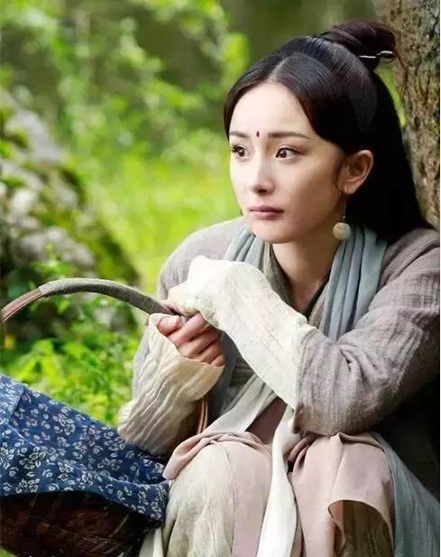 杨幂之后再无白浅?最起码刘亦菲的仙气发型是美过她的图片