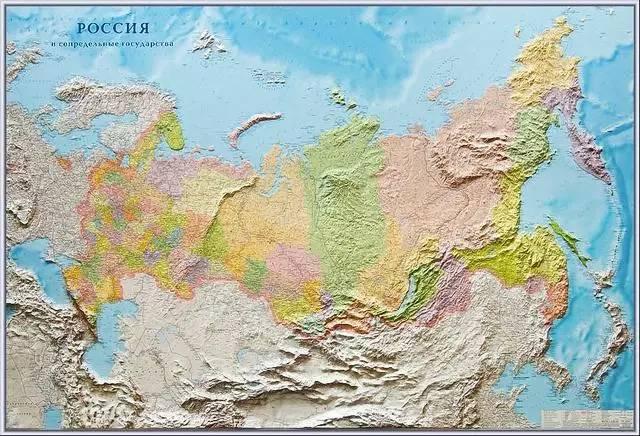 苏联时期的地图!
