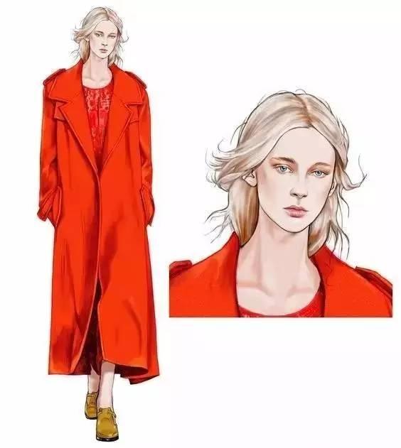 春夏高级定制时装画的绘制教程 盘点|那些值得你收藏的服装设计手绘图