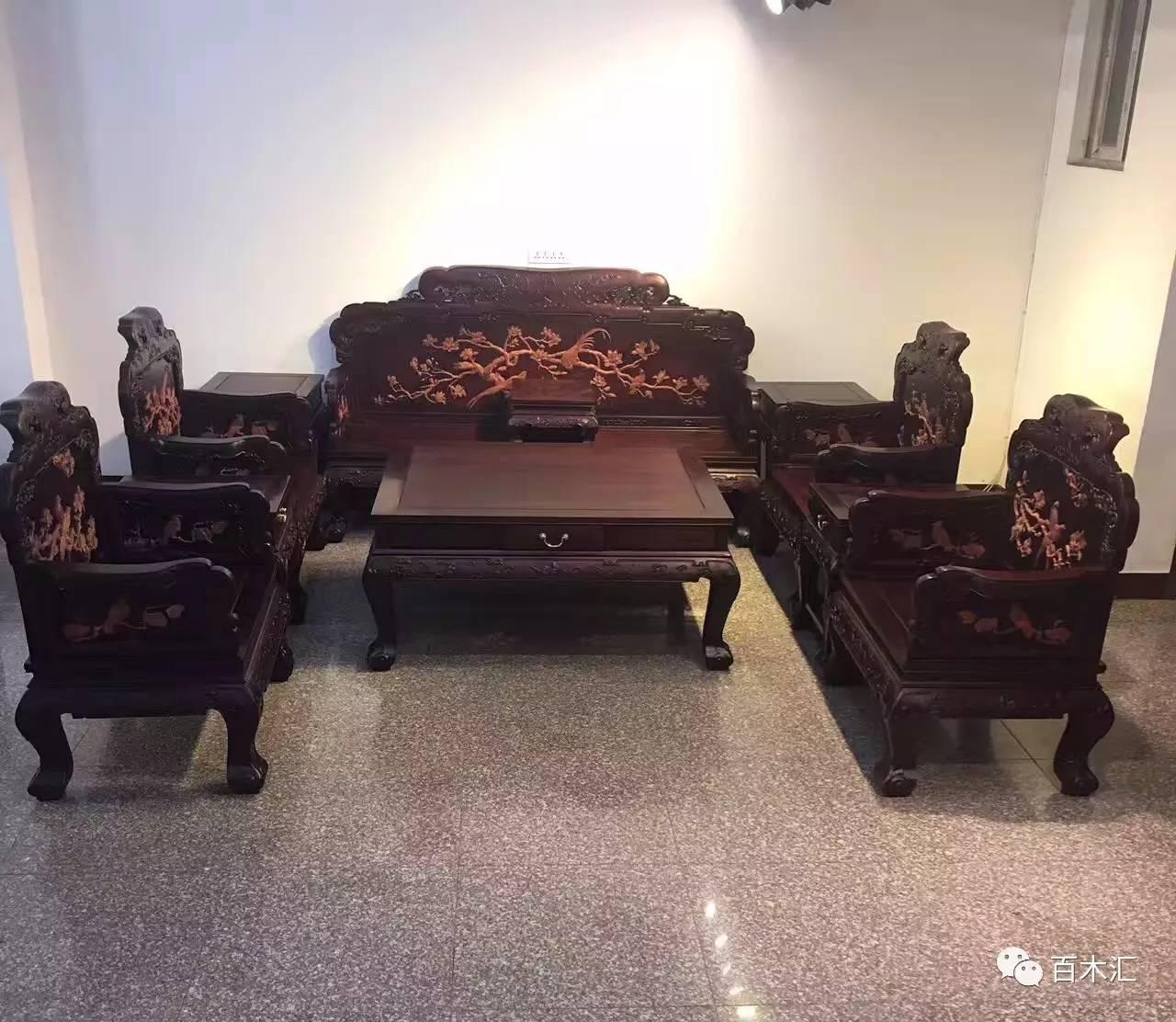 常见红木沙发款式大全,2017最新更新.图片