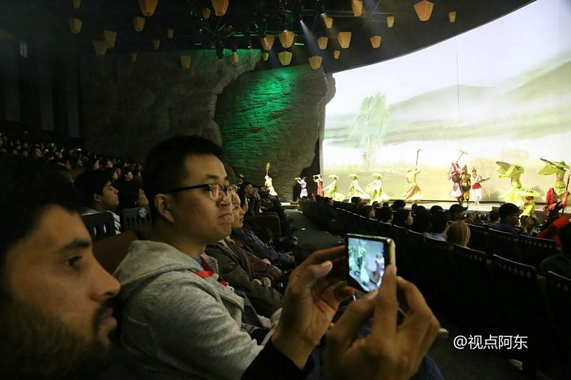 6大洲35个国家的留学生游汉中  美人美景美不胜收 - 视点阿东 - 视点阿东