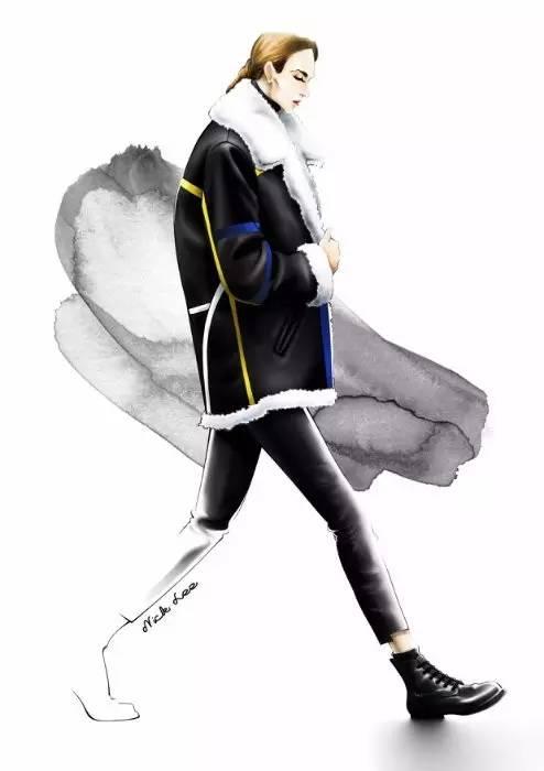 服装设计手绘图