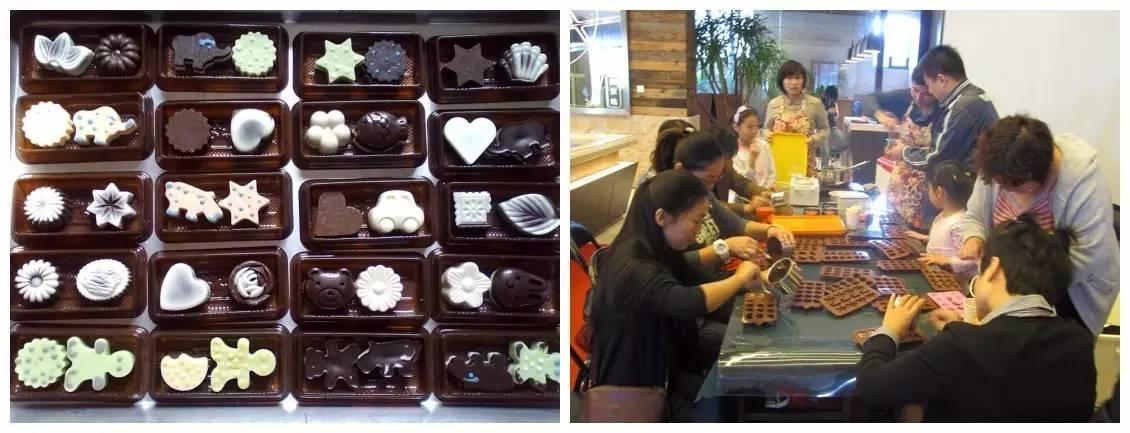 diy巧克力制作_活动内容:专业巧克力烘焙人员指导,体验巧克力手工制作过程,锻炼孩子