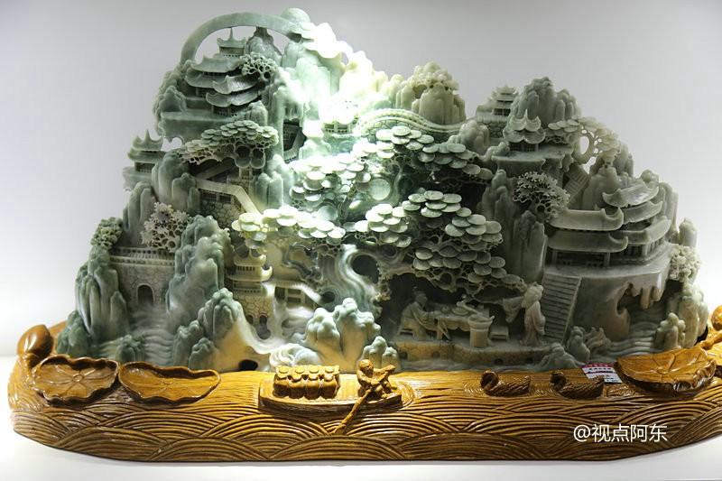 汉中玉含神奇香味成稀世珍品  探秘:看工匠们如何巧手生花 - 视点阿东 - 视点阿东