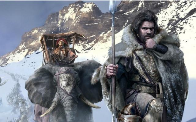 翻越阿尔卑斯山的汉尼拔图片