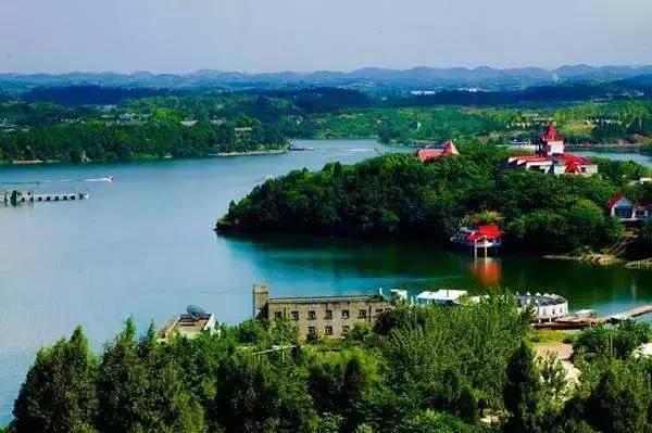 三岔湖长岛国际文化旅游度假中心 青白江杏花村森林公园 金堂山森林图片