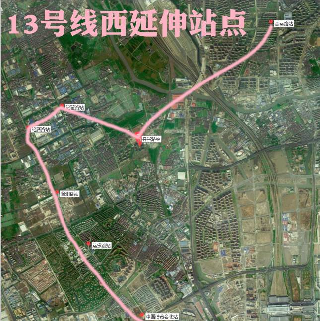 地铁13号线要向西延伸啦,江桥人民出行更方便了