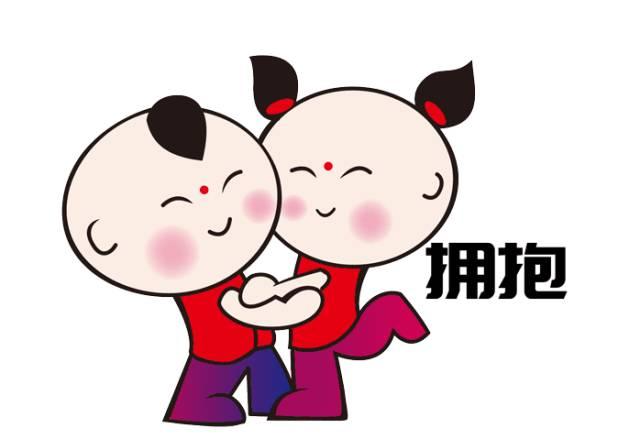 """潍坊文展会吉祥物"""" 圆圆,嘟嘟""""表情包来啦,快快收藏!图片"""