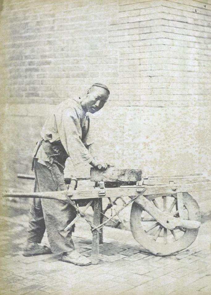 难得一见:从这12张老照片了解清朝12种流行职业