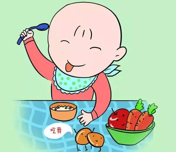 那怎么让孩子自己吃饭呢?图片