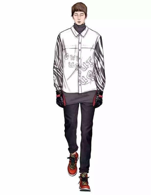 春夏高级定制时装画的绘制教程 盘点 那些值得你收藏的服装设计手绘图