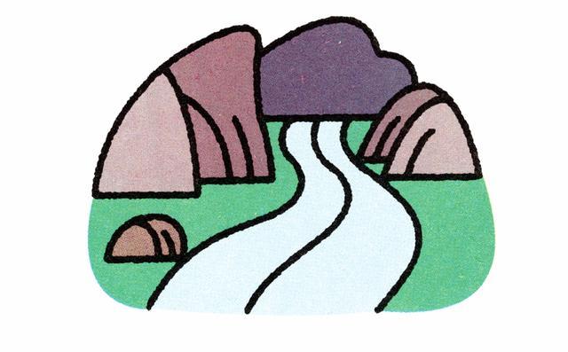 儿童简笔画:十种风景创意画法,展现自然独特