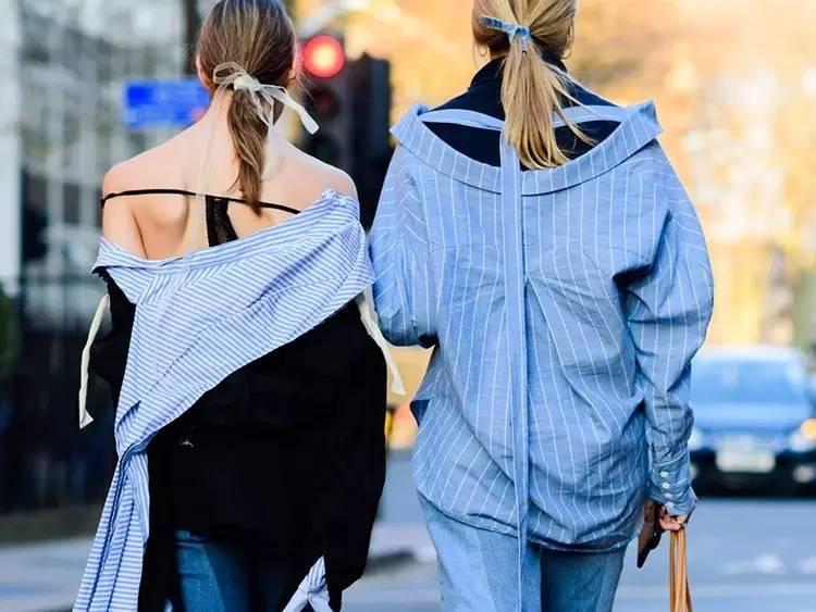 条纹衬衫来一打,轻松hold住20种时髦搭配