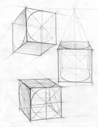素描小白为什么要从几何体画起图片