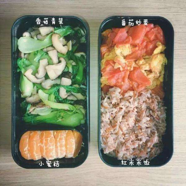 营养早餐减肥食谱图片