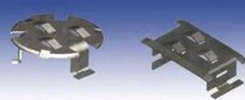 浮阀塔板是国内目前应用最多的塔板结构之一.