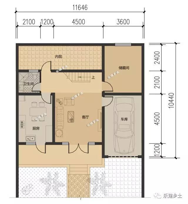 12米开间二层新农村自建房平面布局合集