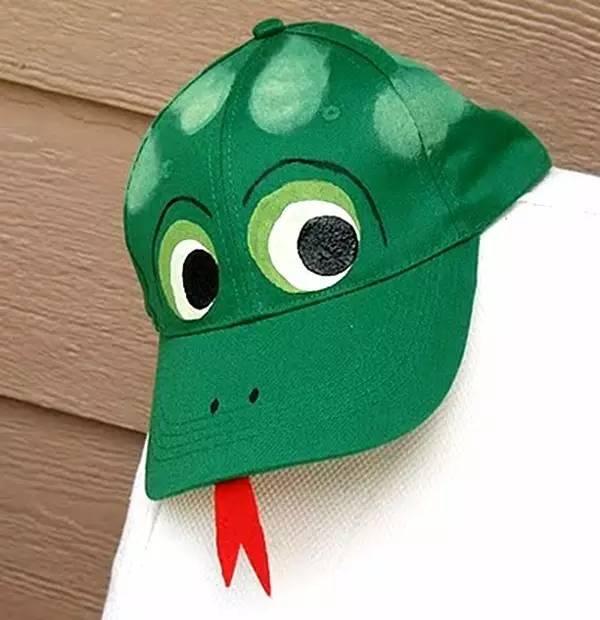 儿童diy手工制作帽子