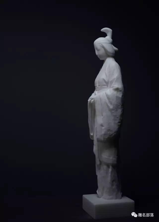 古代仕女当代人物人体雕塑