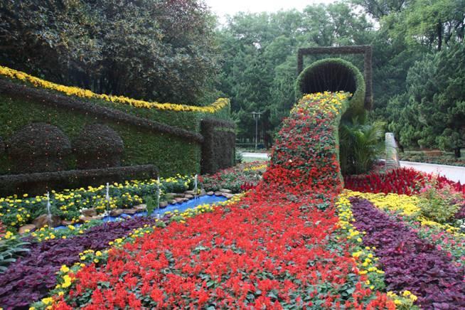 倾斜绿化墙植物墙_人造植物墙_合肥植物墙