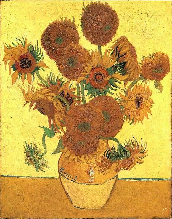 割下梵高耳朵的竟然是他深爱的男人 梵高的每一幅向日葵都是为他而画
